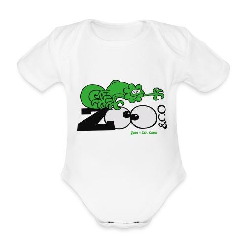 Zooco Chameleon - Organic Short-sleeved Baby Bodysuit