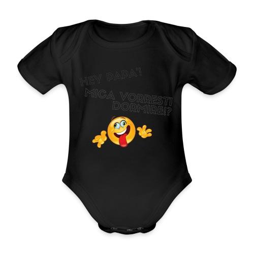 prova png - Body ecologico per neonato a manica corta