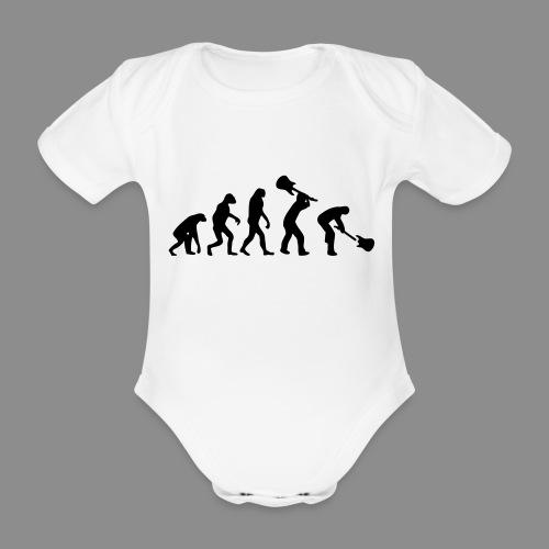Evolution Rock - Body orgánico de maga corta para bebé
