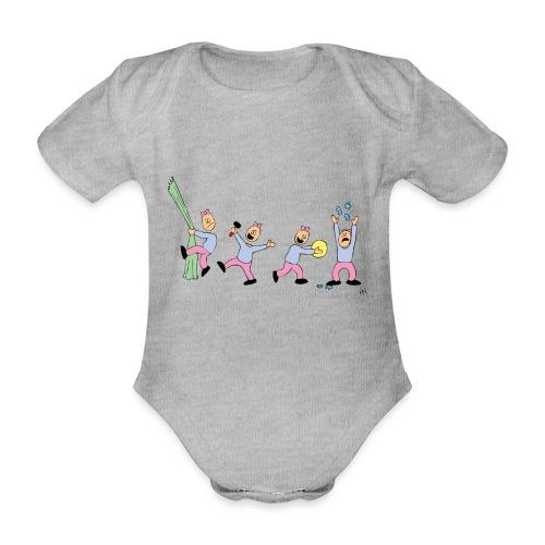 toern babybody - Økologisk kortermet baby-body