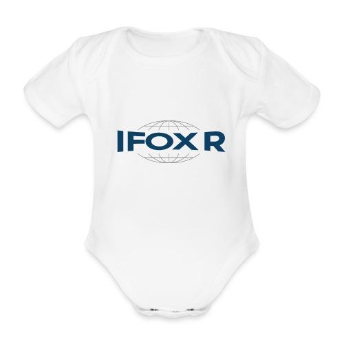 IFOX Logo - Ekologisk kortärmad babybody