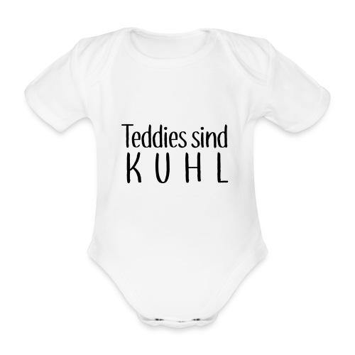 Teddies sind KUHL - Organic Short-sleeved Baby Bodysuit