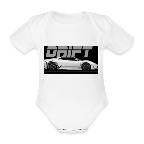 drift - Organic Short-sleeved Baby Bodysuit