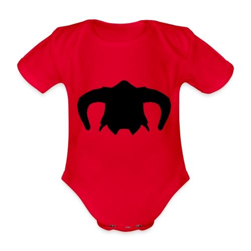 Nord Warrior Helm T-Shirt - Body ecologico per neonato a manica corta