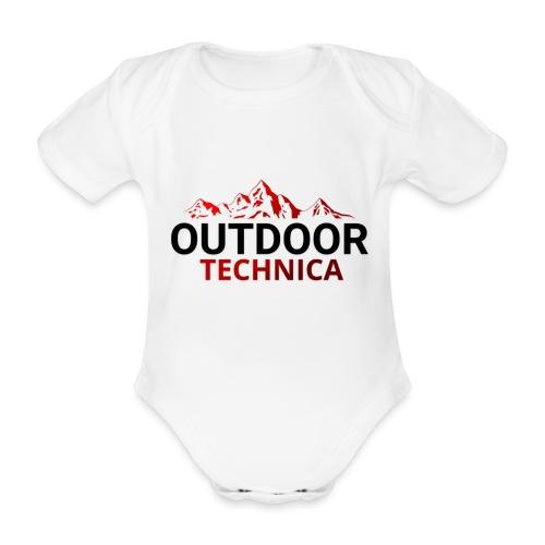 Outdoor Technica - Organic Short-sleeved Baby Bodysuit