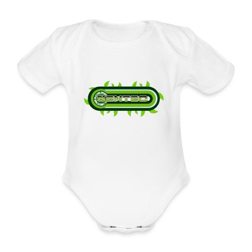 GREEN LOGO - Body orgánico de maga corta para bebé