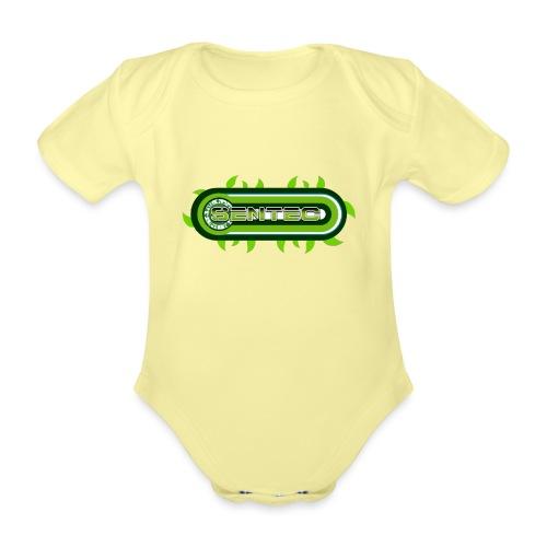 GREEN LOGO - Body orgánico de manga corta para bebé