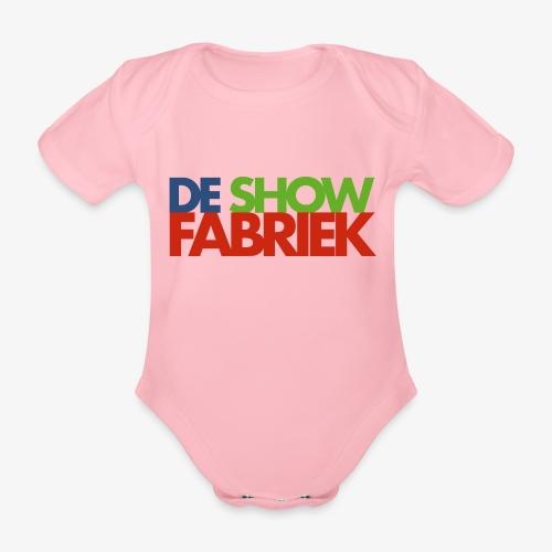De Showfabriek - Baby bio-rompertje met korte mouwen