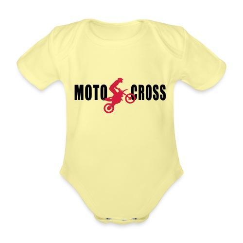 air Motocross - Body Bébé bio manches courtes