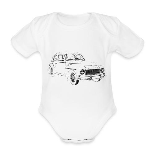 PV544 - Organic Short-sleeved Baby Bodysuit