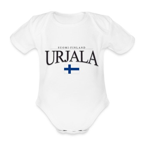 Suomipaita - Urjala Suomi Finland - Vauvan lyhythihainen luomu-body