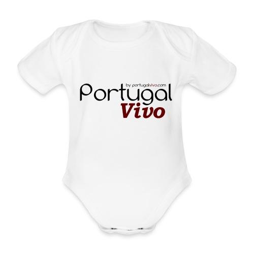 Portugal Vivo - Body Bébé bio manches courtes