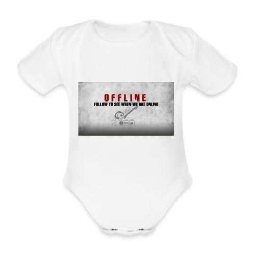Offline V1 - Organic Short-sleeved Baby Bodysuit