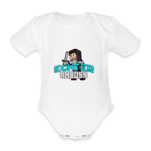 Echter Amboss! - Organic Short-sleeved Baby Bodysuit