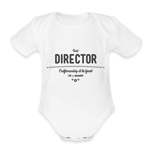 Bester Direktor - Handwerkskunst vom Feinsten, wie - Baby Bio-Kurzarm-Body