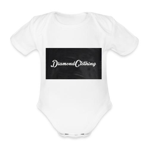 Diamond Clothing Original - Organic Short-sleeved Baby Bodysuit