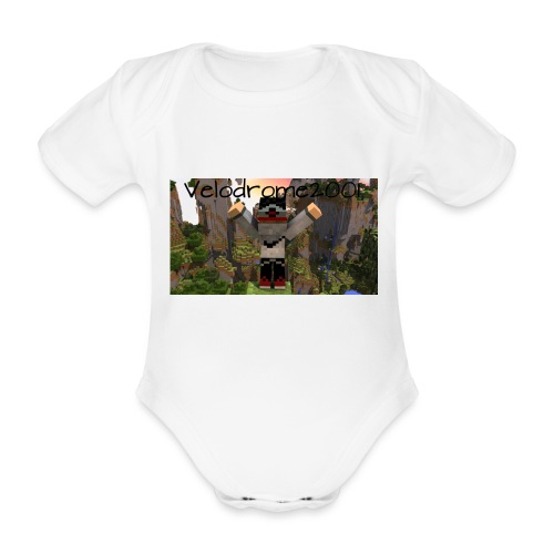 Velodrome2001 Tröja! - Ekologisk kortärmad babybody