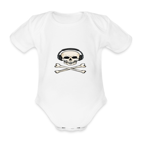 Blake The Gamer - Organic Short-sleeved Baby Bodysuit