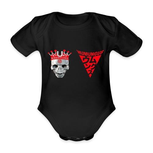 skull krone humungus3 png - Baby Bio-Kurzarm-Body