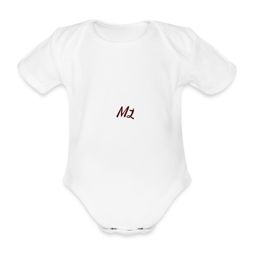 ML merch - Organic Short-sleeved Baby Bodysuit