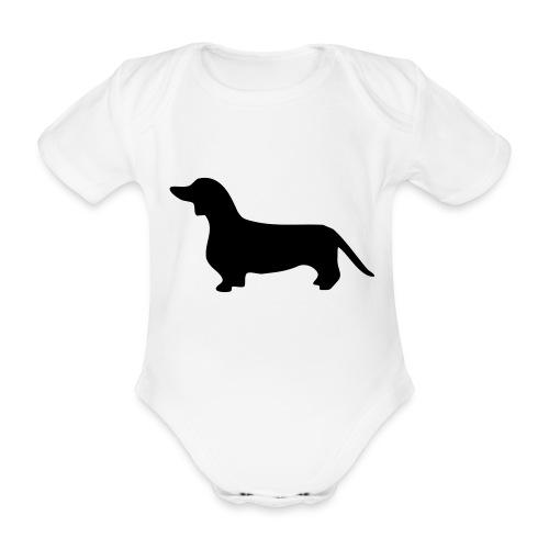 Dackel - Baby Bio-Kurzarm-Body