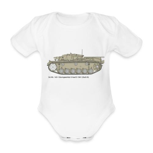 Stug III Ausf D. - Baby Bio-Kurzarm-Body