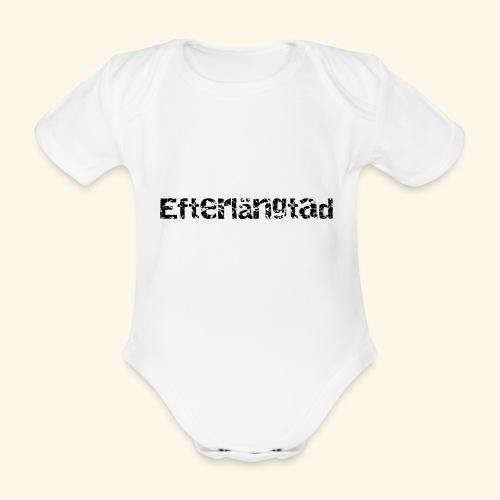 efterlängtad - Ekologisk kortärmad babybody
