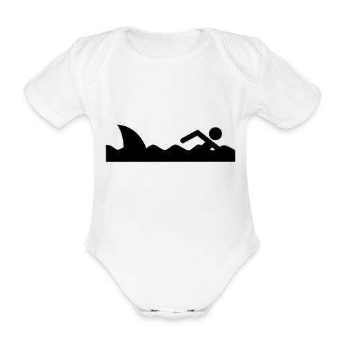 Haifischfutter - Baby Bio-Kurzarm-Body