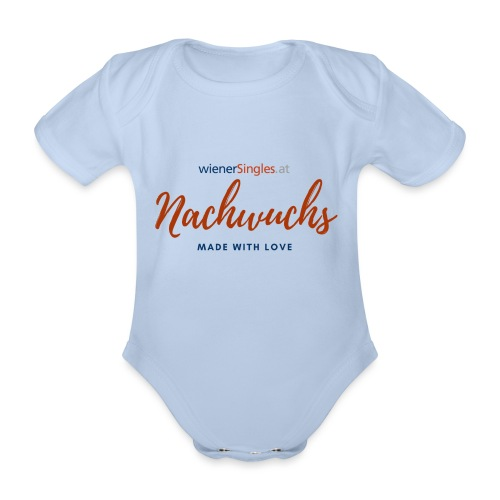 WiSi Nachwuchs Made with love - Baby Bio-Kurzarm-Body