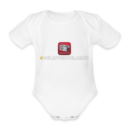 WeLoveSchlager 1 - Baby Bio-Kurzarm-Body