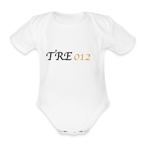 TRE012 - Body ecologico per neonato a manica corta