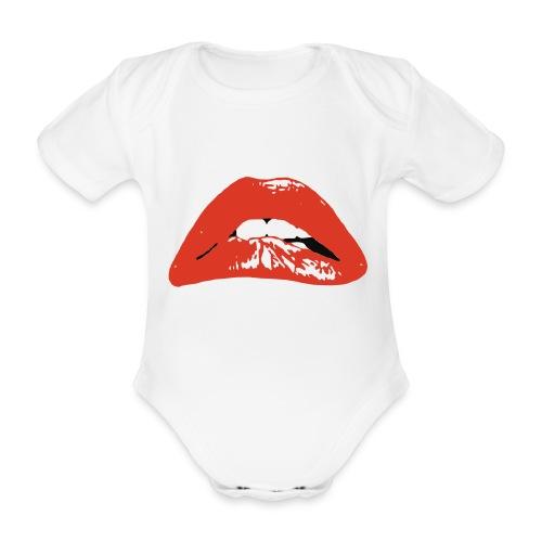 horror - Baby bio-rompertje met korte mouwen