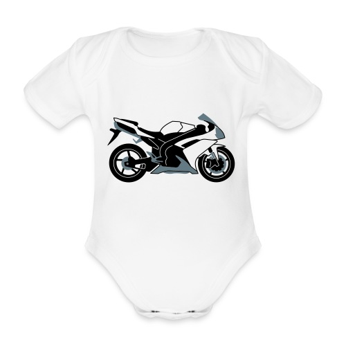 R1 07-on V2 - Organic Short-sleeved Baby Bodysuit