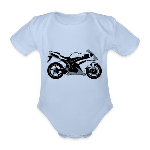 R1 07-on V2 - Organic Short-sleeved Baby Bodysuit