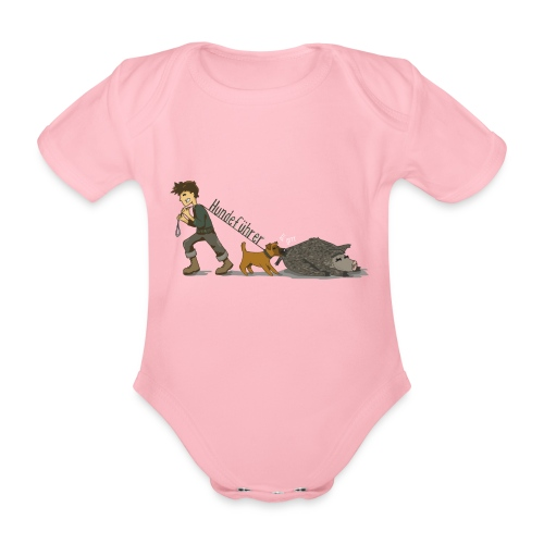 Hundeführer - Baby Bio-Kurzarm-Body