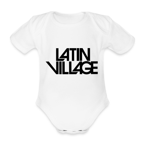 Logo Latin Village 30 - Baby bio-rompertje met korte mouwen