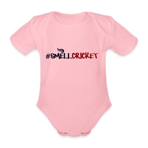 smellcricket - Organic Short-sleeved Baby Bodysuit