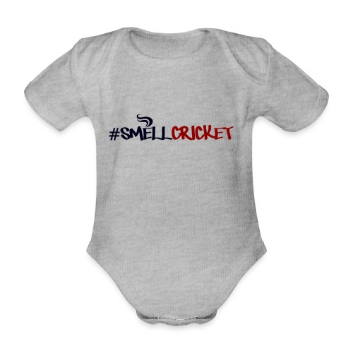 smellcricket - Organic Short-sleeved Baby Bodysuit