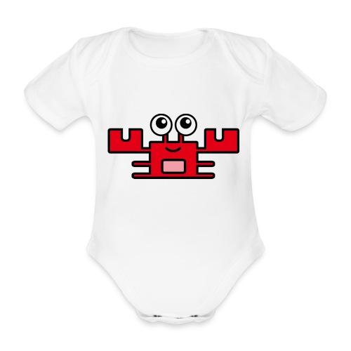 krabby - Baby Bio-Kurzarm-Body