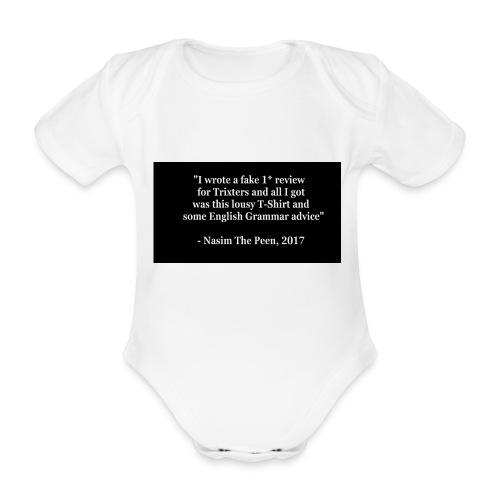 NasimPeen - Organic Short-sleeved Baby Bodysuit