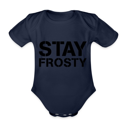 Stay Frosty - Organic Short-sleeved Baby Bodysuit
