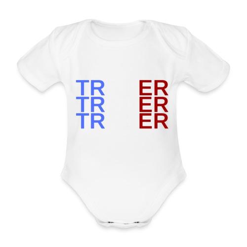 TRADER X3 - Body Bébé bio manches courtes
