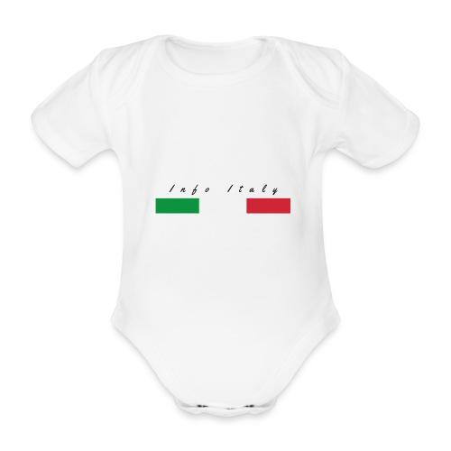 Info Italy Design - Body ecologico per neonato a manica corta