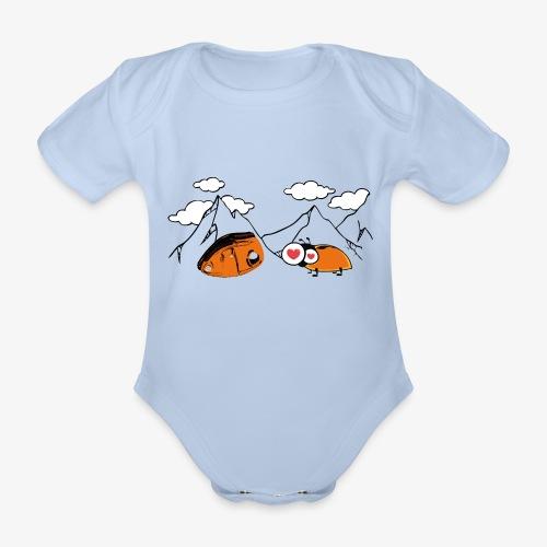 Grigri enamorado - Organic Short-sleeved Baby Bodysuit