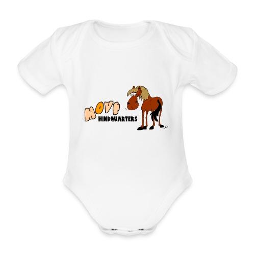 move hindquarters - Baby Bio-Kurzarm-Body