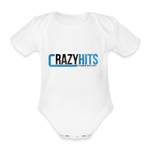 CrazyHIT - Body Bébé bio manches courtes