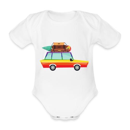 Gay Van | LGBT | Pride - Baby Bio-Kurzarm-Body