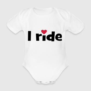 2541614 14763450 i ride - Baby Bio-Kurzarm-Body