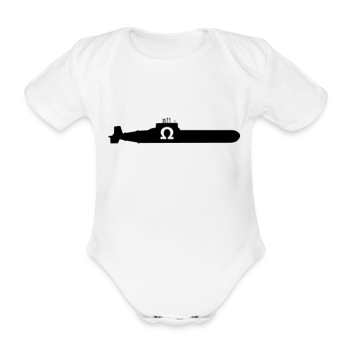 SUBOHM - Organic Short-sleeved Baby Bodysuit