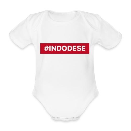 indodese - Baby bio-rompertje met korte mouwen